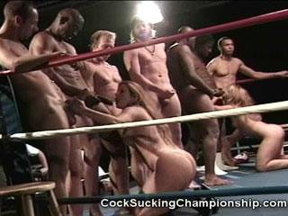 Cock sucking championsip